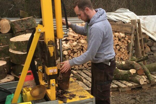 seasoned logs devon